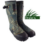 ITASCA Mens Wide Calf Fit Camo Wellington Hunting Boots Warm Rubber Muck Wellies