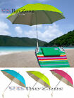 Beach Deck Chair Umbrella Parasol UPF UV Protection Sun Shade Screw On Clamp