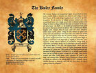 Surname - Last Name Meaning  Coat-of-Arms Gifts - Great Gift for Dad MATS