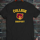 Kanye West Dope Yolo College Dropout Bear Mens Black T-Shirt