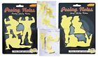 Novelty Posing Sticky Memo Notes Pad Hunk Sexy Lady Silhouette Hen Night Gift