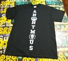 Anonymous Crest Mask T-shirt 4Chan tee shirt Anarchy Anarchist ANON