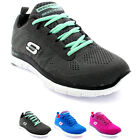 Womens Skechers Flex Appeal Sweet Spot Mesh Memory Foam Sports Trainers UK 3-8