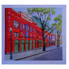 "Needlepoint canvas ""Boston Fenway Park"""