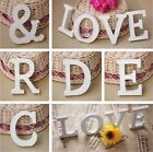 New English Letters Post  A-Z & Wall Decor Wooden Wedding Party Festival Room Z