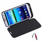 4200mAh Battery Charger Stand Case For Galaxy Note 2 II N7100 +Stylus R