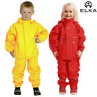 Kids Waterproof Rain Jacket Trousers Set Childrens Coat Casual Camping Rainsuit