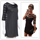 Women Summer Bandage Bodycon Lace Evening Sexy Party Cocktail Mini Striped Dress