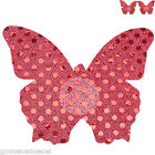 Womens One-off Red Butterfly Nipple Cover Sticker Breast Bra Pad Pasties