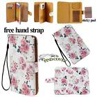 Folio Leather Stand Card Wallet Magnetic Cover Case For Various BlackBerry Phone