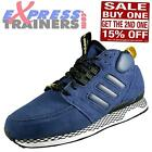 Adidas Originals Mens ZX Casual Mid Trainers Navy * AUTHENTIC *