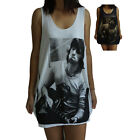 Unisex Keith Richards Vest Tank Top Singlet Dress Sleeveless T-Shirt