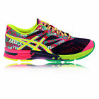 Asics Gel-Noosa Tri 10 Womens Pink Yellow Purple Lightweight Running Shoes New