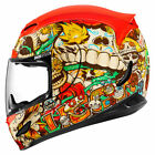 Fast Shipping ICON Airmada All Graphics Motorcycle Helmet