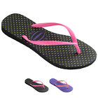 Womens Havianas Slim Fresh Thongs Sandals Beach Rubber Brazil Flip Flops UK 1-8
