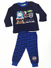 Boys Winter Long Cotton Set 2pc Pyjamas Pjs Navy Thomas Tank Engine Sz 1 2 3 4 5