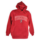 NCAA Wisconsin Badgers West Haven Hoodie Sweater Red Winter Mens Adult