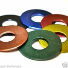 M6 x 40mm GWR Colourfast® Penny Washers - A2 Stainless Steel - Coloured Washer