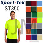 Mens Sport Tek ST350 Dri Fit Workout T Shirt S 4XL
