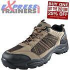 Premier Mens Tracker Logan Outdoor Casual Hiking Walking Shoes Brown *AUTHENTIC*