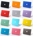 "Rubberized Matte Hard Case Cut-out Cover for MacBook AIR 11"" / PRO 13 15 Retina"