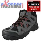Premier Mens Tracker Hi Walking Outdoor Hiking Trail Boots Black * AUTHENTIC *