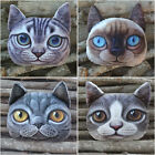 Hot Selling 3D Cute Cat Face Eyes Money Purse Wallet Zipper Case  Coin Bag 0496