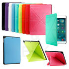 Magnetic Smart Case Cover Ultra Slim Leather Back Case Stand For APPLE iPad Air
