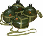 Green Military Training Kettle Aluminum Travel Bottle Cup Outdoor Water Bottle