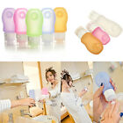 Travel Silicone Packing Bottle Shampoo Lotion Bath Tube Container 89ml/60ml/37ml