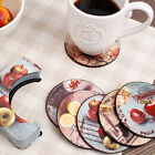 Drink coasters vintage coaster coaster Tea coaster Cup mat Coffee Cake Fruits