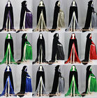 Velvet Halloween Hooded Cloak Cape Witchcraft Christmas Wedding Stock Size S-XXL