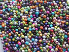 3g approx. 100 x 4mm acrylic miracle beads