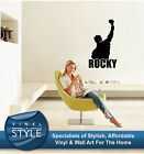 ROCKY DECOR DECAL STICKER WALL ART GRAPHIC VARIOUS COLOUR