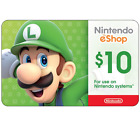 Nintendo eShop Digital Card - $10 $20 $35 $50 - Email delivery