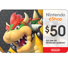 Nintendo eShop Digital Card - $10 $20 $35 $50 - Email delivery  <br/> US Only. Delivered in minutes (Exceptions apply)