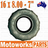 "16 X 8 - 7"" inch Front Rear Tyre Tire 110cc 125cc Quad Bike ATV Buggy GoKart"