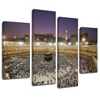 MSC462 Masjid al-Haram Mecca Mosque Canvas Art Multi Panel Split Picture Print