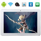 10.1'' Phablet Quad Core 16GB Android4.4 GPS Unlocked 3G Tablet Smart Phone WIFI