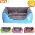 Winter Soft Warm Comfy Fabric Dog Puppy Cat Teddy Pet Bed House