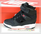 Nike Wmns Air Revolution Sky Hi Black White Pink 599410-016 US 6~8.5 Wedge NSW