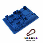 Lego Shape Ice Cube Tray Silicone Mould Build Fun Lego Ice Bricks +Hook R
