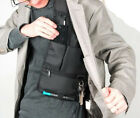 FBI Tactical Outdoor Sports Vest Hidden Underarm Pocket Shoulder Bag wallet