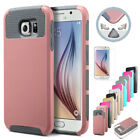For Samsung Galaxy S6 Slim Hybrid Shockproof Hard Rugged Glossy Case Cover Skin