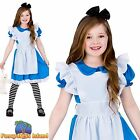 KIDS CLASSIC STORYBOOK ALICE IN WONDERLAND Age 3-13 Girls Fancy Dress Costume