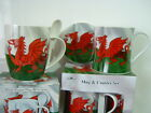 Wales Welsh Set Of 4 Dragon Mug Coaster  Set Cymru China  By Leonardo .
