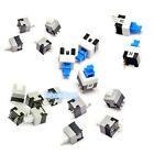 New Square Tact Push Button Switch 3 / 6 Pins Self-locking / Without-lock Type