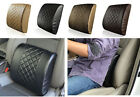 Car Office Home leather Memory Foam Chair Lumbar Back Support Cushion Pillow