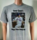 new york mets T-SHIRT bartolo colon jersey tee funny YOU CANT MAKE THIS STUFF UP