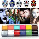 12 Colors Face Body DIY Painting Oil Art Make Up For Halloween Party Fancy Kit